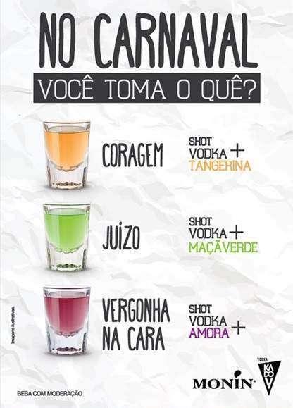 Bares de São Paulo aderem aos shots