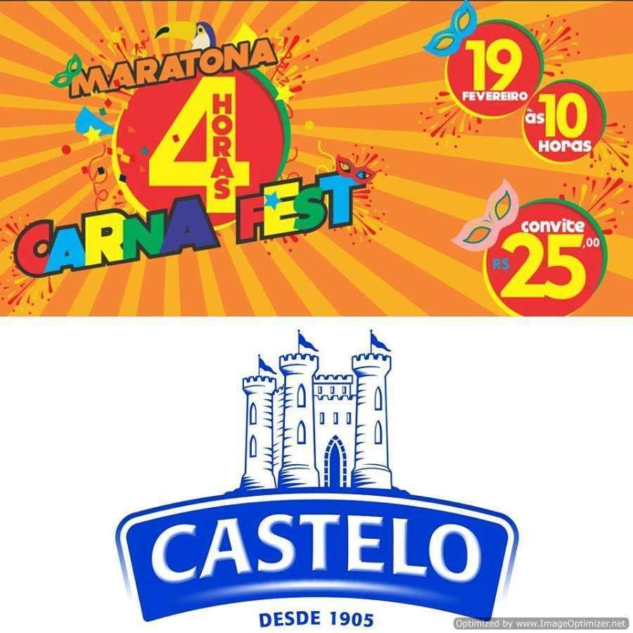 Carnafest e Castelo Alimentos faz ação de Carnaval