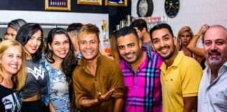Guilherme Tavares comemorou seu niver na Blankara
