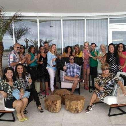 Alessandro Monteiro comemora seu niver no Hotel Gran Meliá