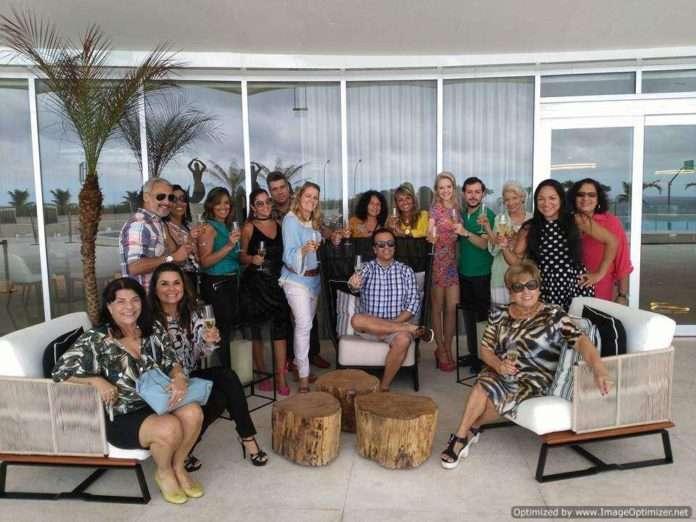 Alessandro Monteiro comemora seu niver no Hotel Gran Meliá.