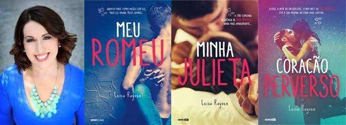 Leisa Rayven, autora de Meu Romeu, vem ao Brasil