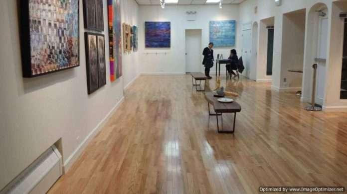 Artista Paulo Ribeiro na Exposiçāo em New York