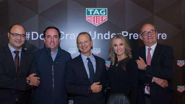 Nova coleção da marca TAG HEUER no Rio de Janeiro
