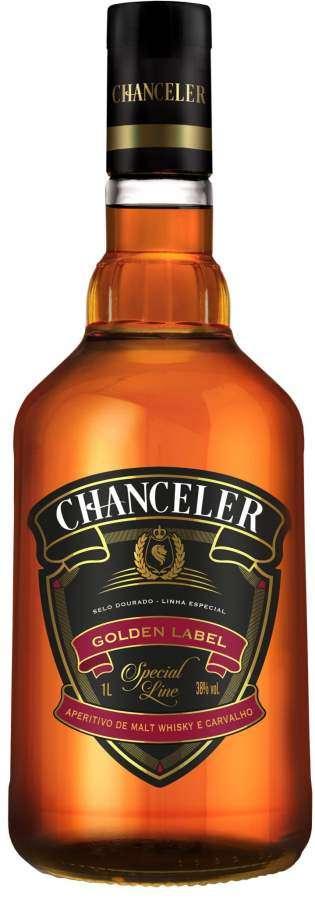 Aperitivo de malte whisky Chanceler renova embalagem