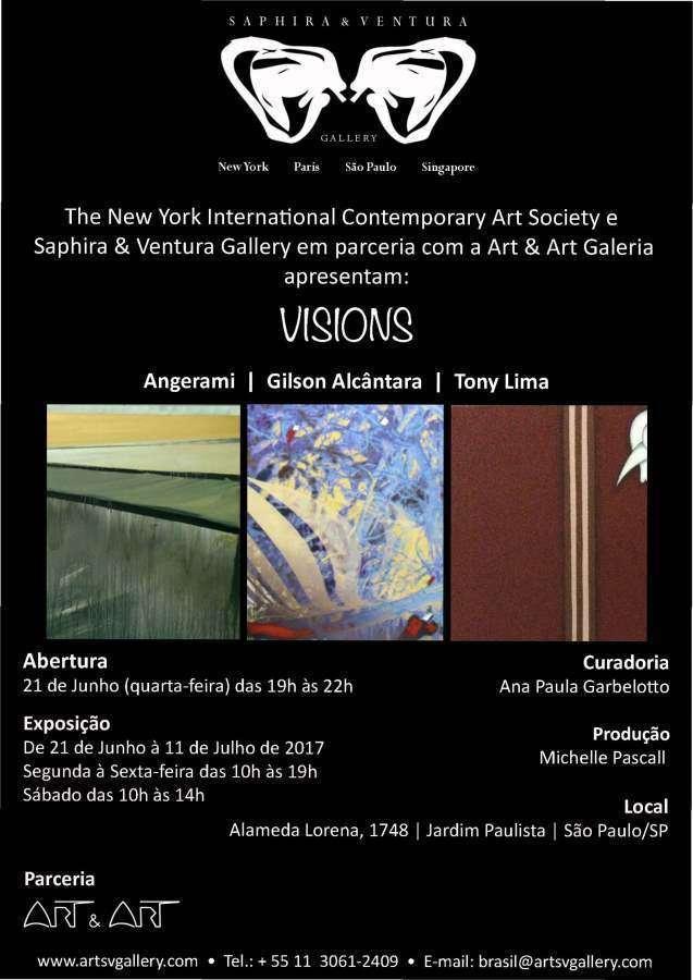 Saphira & Ventura Gallery apresenta a exposição VISIONS