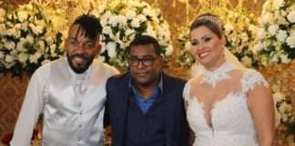 Cantor Almirzinho Serra casa com Adriana Apolinario