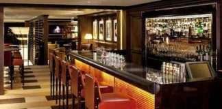 BAR 45 em um dos mais luxuosos hotéis do mundo