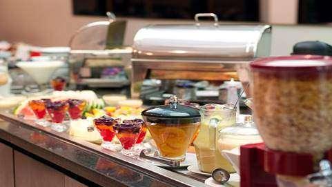 Hotel TRYP Itaim com Estação de Tapiocas no café da manhã