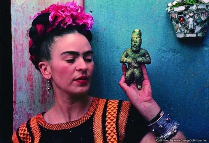 Cidade do México comemora o 110º aniversário de Frida Kahlo
