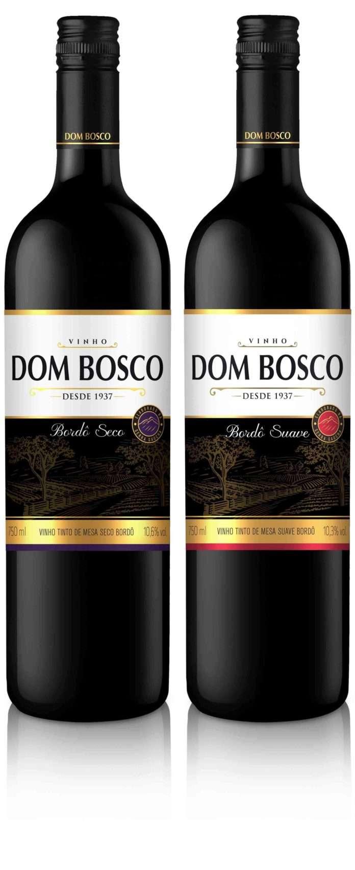 Linha de vinho Dom Bosco comemora 80 anos