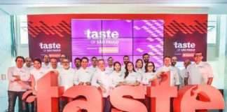 Amantes da gastronomia 2a. Edição do Taste of São Paulo