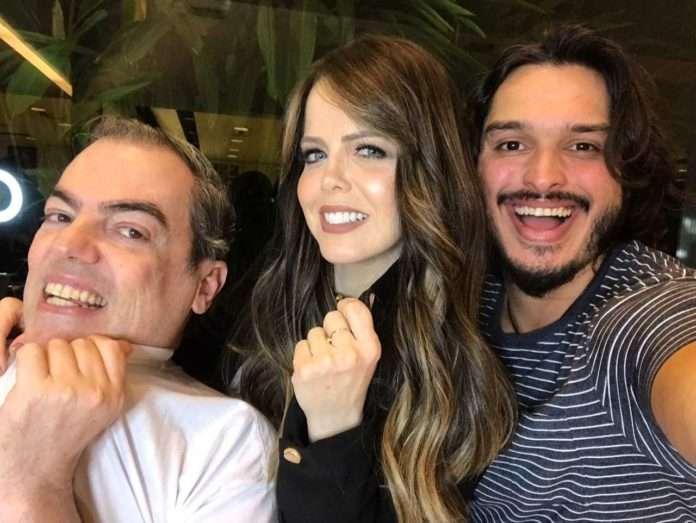 Marco Antônio de Biaggi, Mariza Marchetti-Jhonathan Prado-na midia-uiara zagolin