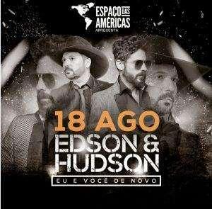 Edson e Hudson, Espaço das Américas, uiara zagolin, na midia,