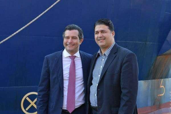 Roberto Sales visita Porto do RJ e Companhia Docas