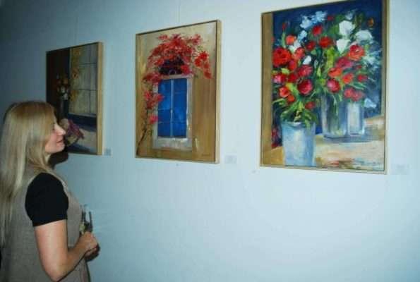 Vernissage de Neura Costa na Saphira & Ventura Gallery