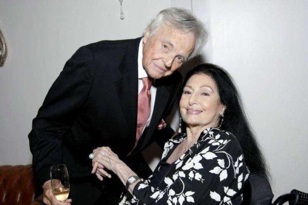 Eudes de Orleans e Bragança com Carmen Mayrink Veiga