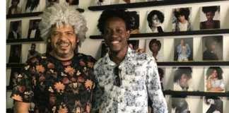 Helder Dias, dono da HDA Models, e Carlos Edwin, modelo – foto: divulgação-namidia-uiara zagolin