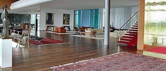 Visite o Palácio da Alvorada em Brasília