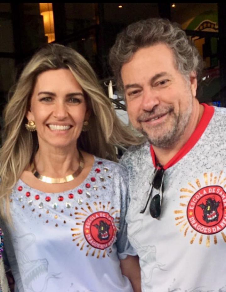 Jacqueline Meirelles e Júlio Casares - Divulgação