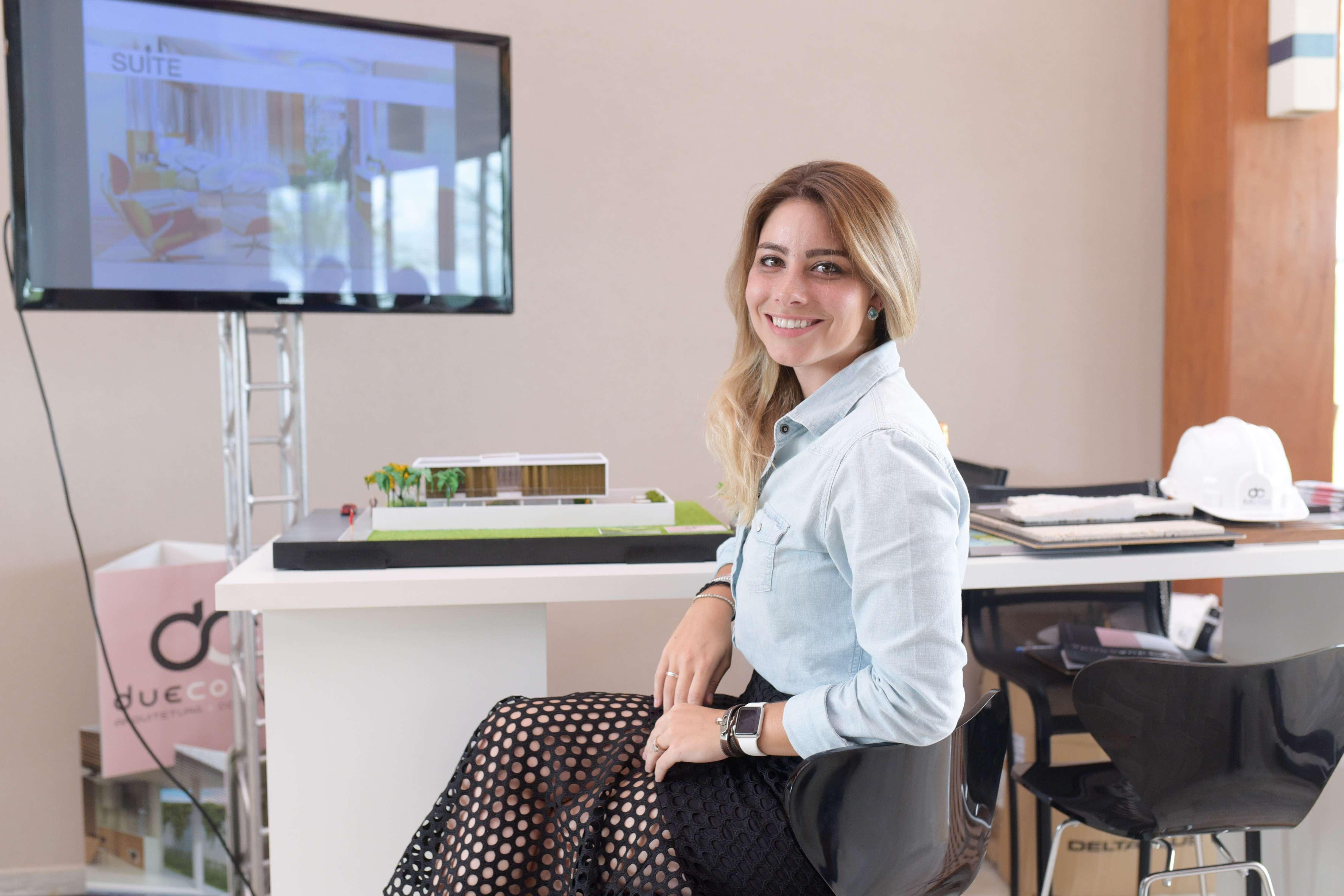 Arquiteta Ana Paula Conde inaugura seu novo escritório