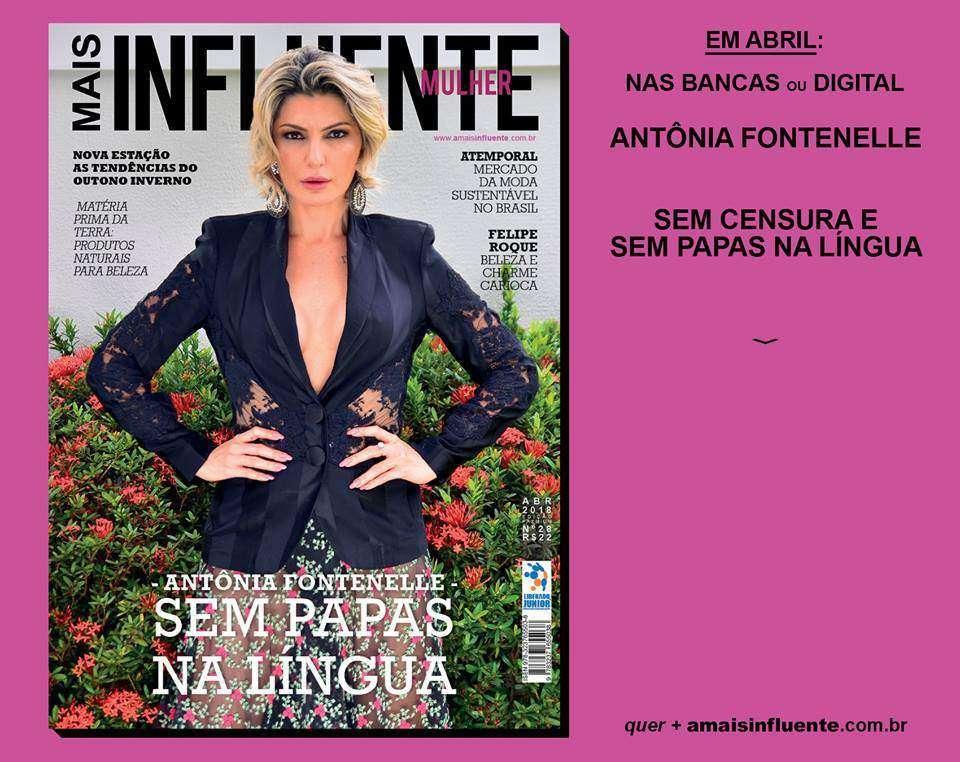 Lançamento da edição de abril Revista Mais Influente Mulher