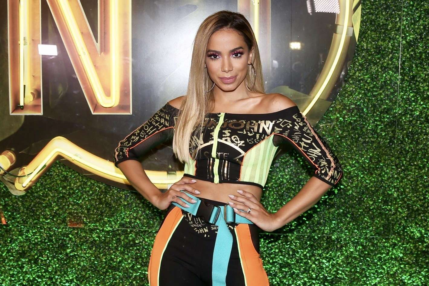 Na edição de terça do 'Anitta entrou no grupo', do Multishow, ela havia dito: 'só convido gente que eu amo, não convido gente hanseníase'.