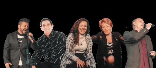 Dia 3 - Teatro Rival Petrobras apresenta: Melodias Inesquecíveis - É o espetáculo luxuoso