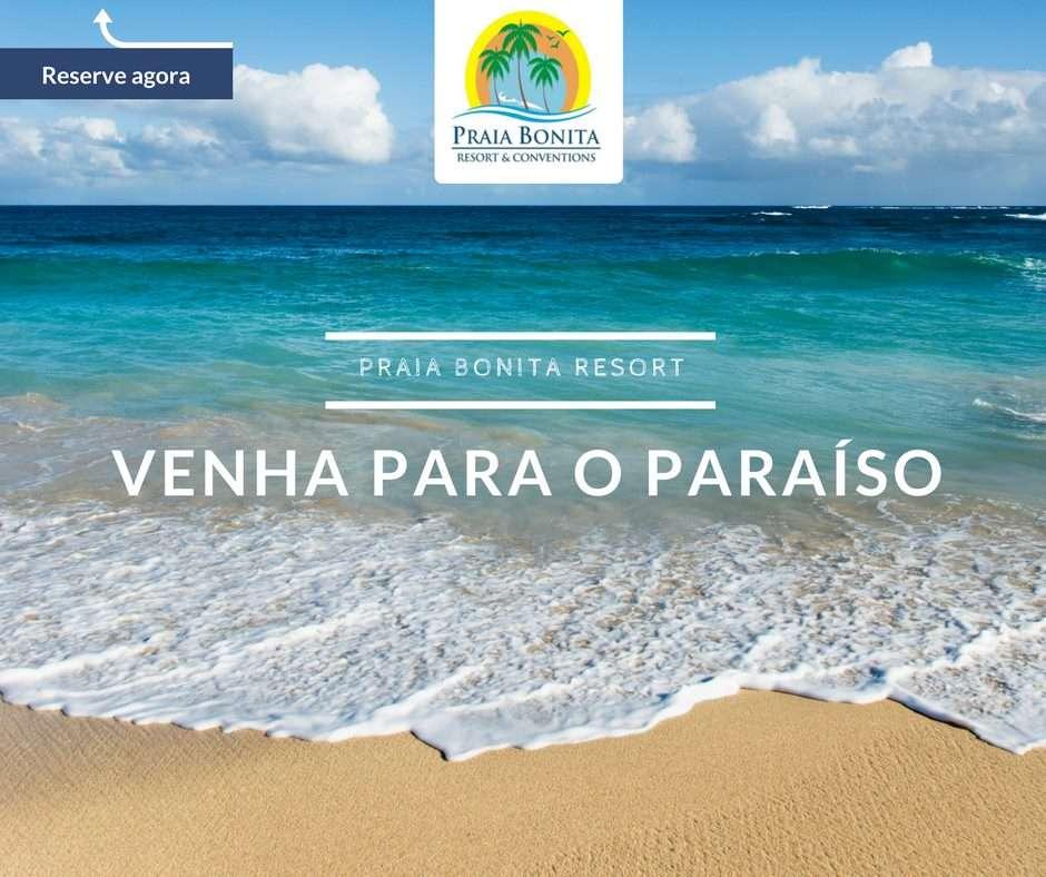 O paraíso existe: Praia Bonita Resort & Conventions