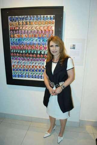 Exposição mini solo da artista e arquiteta Silvana Monteiro