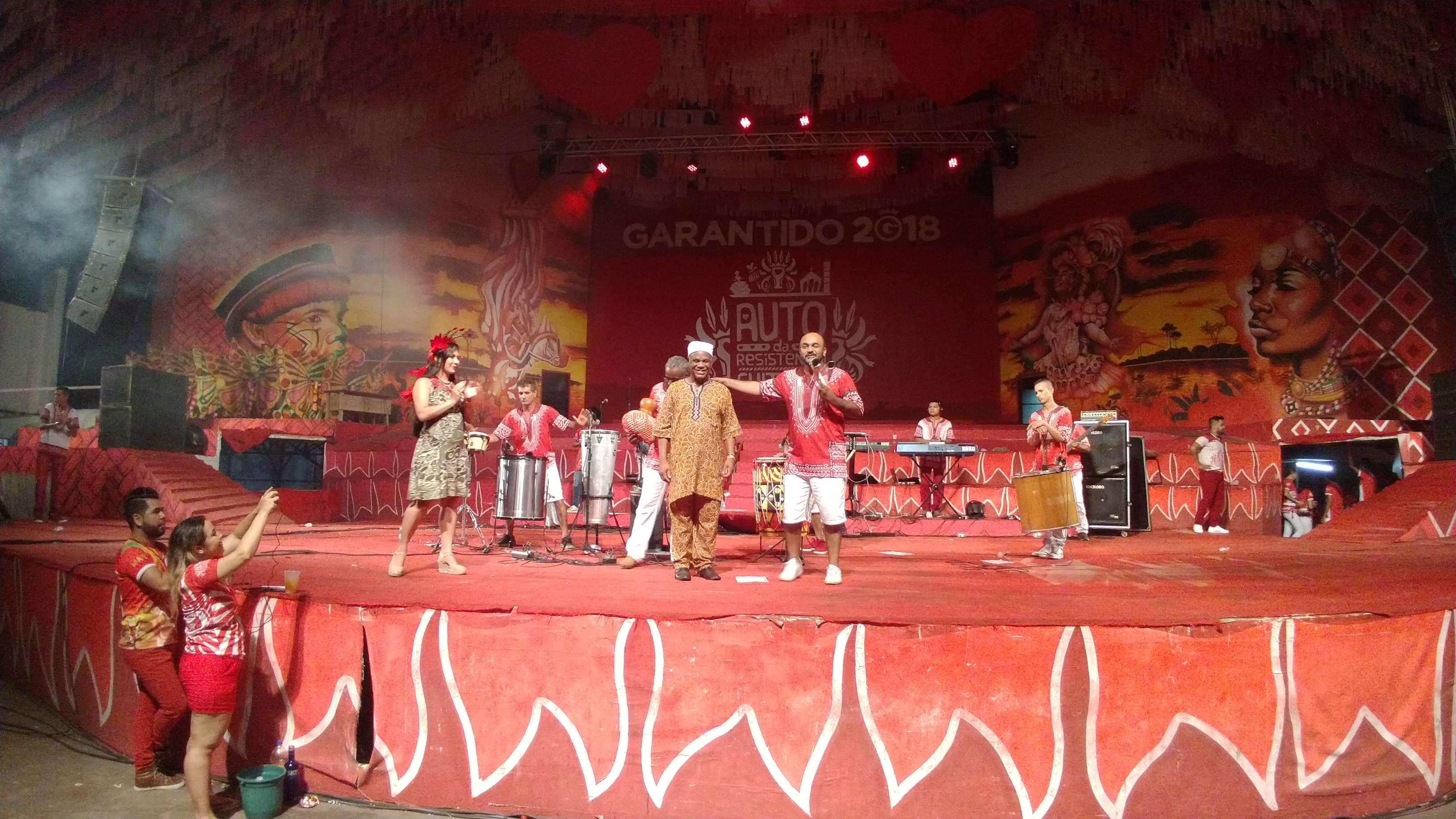 Festival de Parintins é um dos maiores do mundo