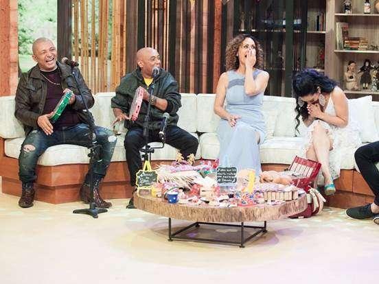 Faa Morena faz a festa no arraial do Ritmo Brasil