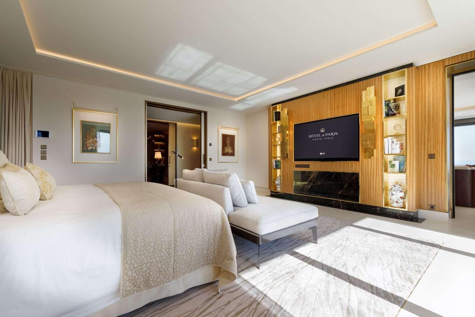 "Hotel de Paris Monte-Carlo e a suíte exclusiva ""Princesa Grace"""