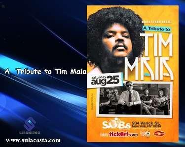 Um tributo a Tim Maia homenageia o grande ídolo