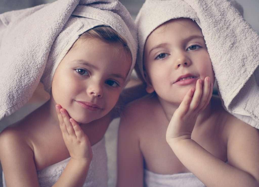 KidSpa para as meninas relaxarem e se divertirem