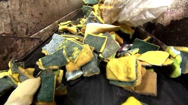 Reciclagem de esponjas alcança a marca de 1 milhão