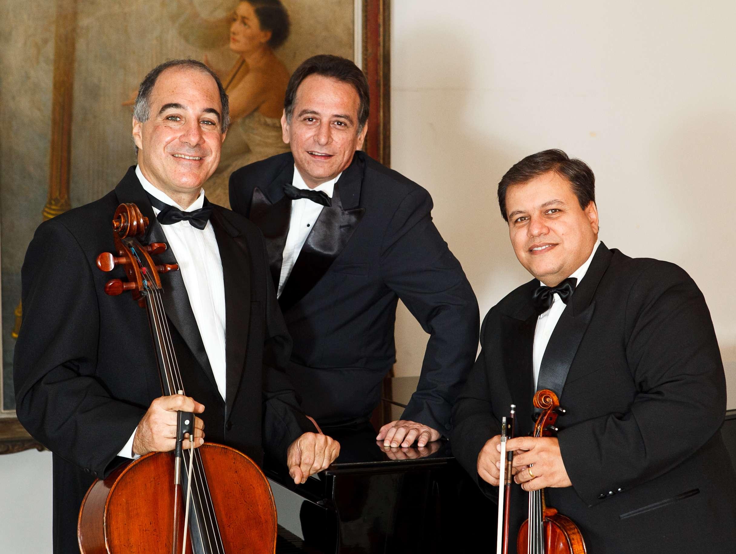 Concerto com Trio Aquarius no Centro da Música Carioca
