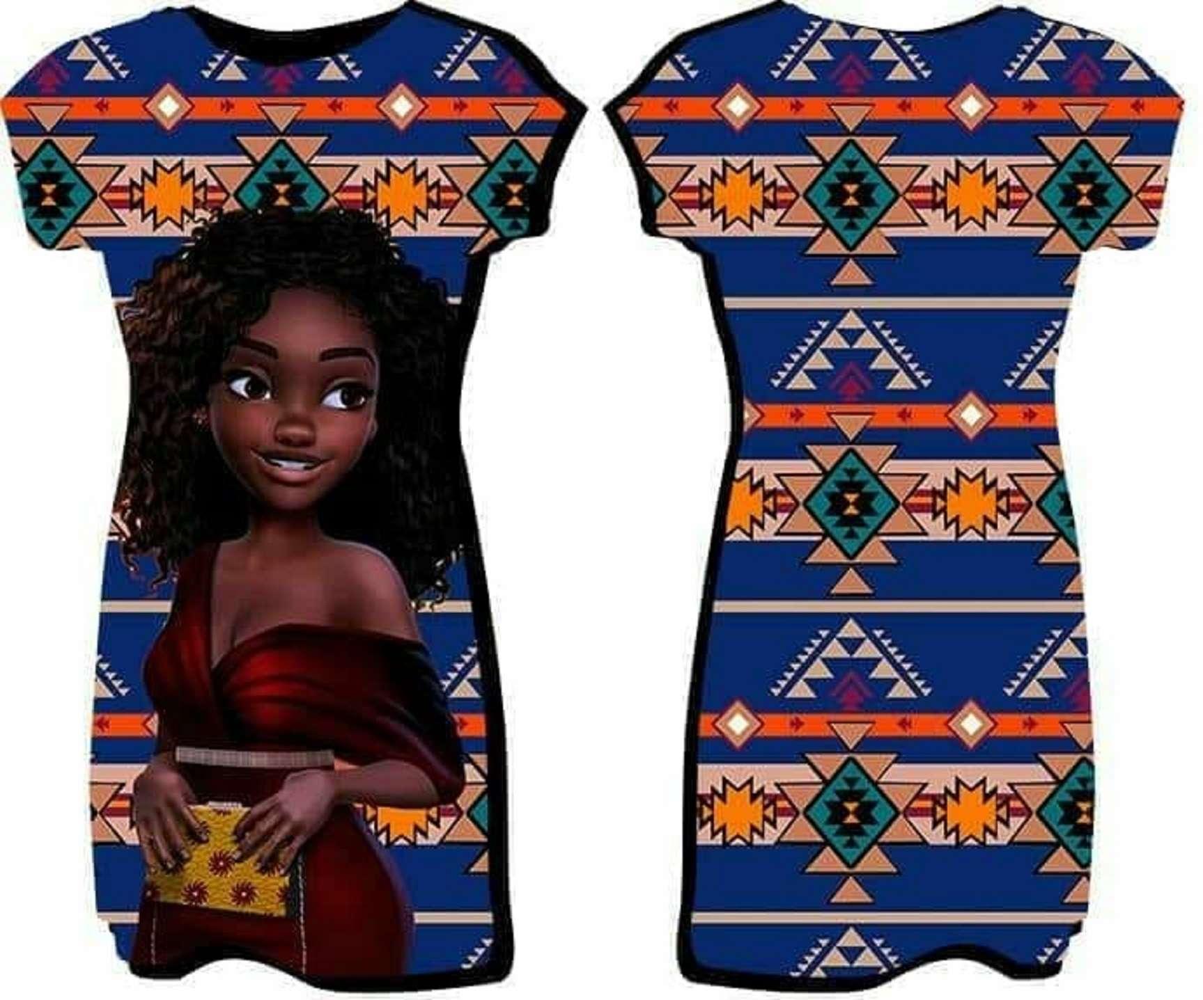 Grife Kaba Léwà, moda afro de origem Yorubá em Olaria