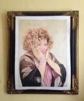ROGÉRIA é homenageada pelo artista plástico Reini Freire