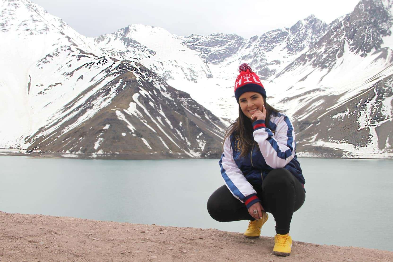 Cantora e atrizNaty Meg com seu novo trabalho no Chile