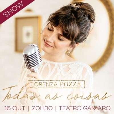 Cantora romântica Lorenza Pozza faz show em SPaulo