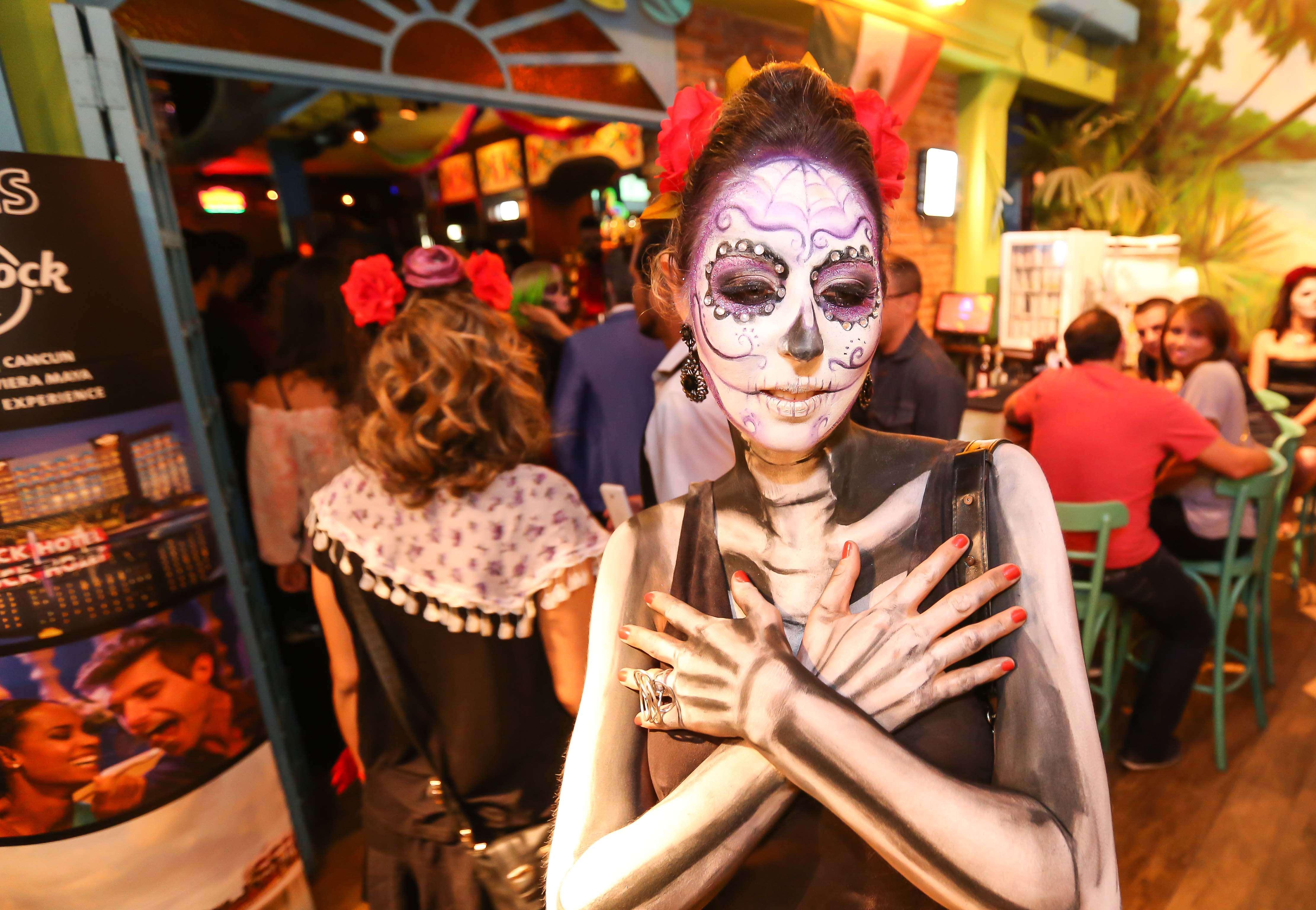 Noites concorridas durante as festas de Halloween