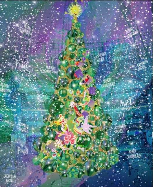 """Natal na Galeries Lafayette com tema """"Fábrica de Sonhos"""""""