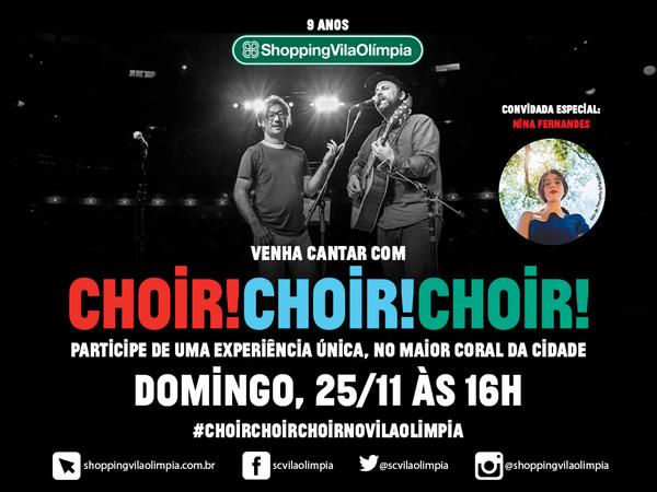 Coral Canadense (Choir! Choir! Choir!) no Brasil