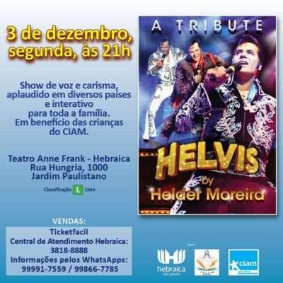 Tributo a Elvis Presley com Helder Moreira