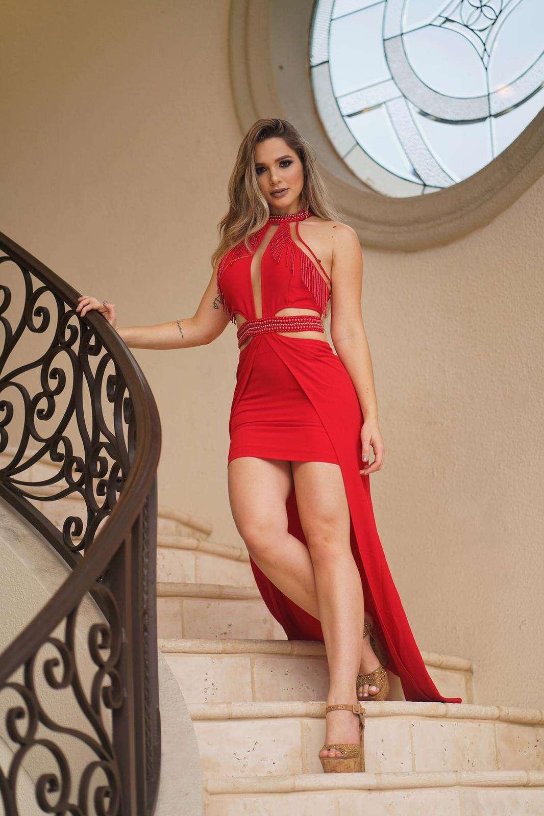 Modelo brasileira no New York Fashion Week