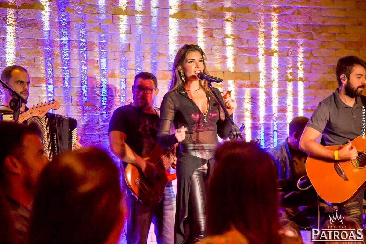 Bar das Patroas recebe Lucyana Villar nas noites de quarta