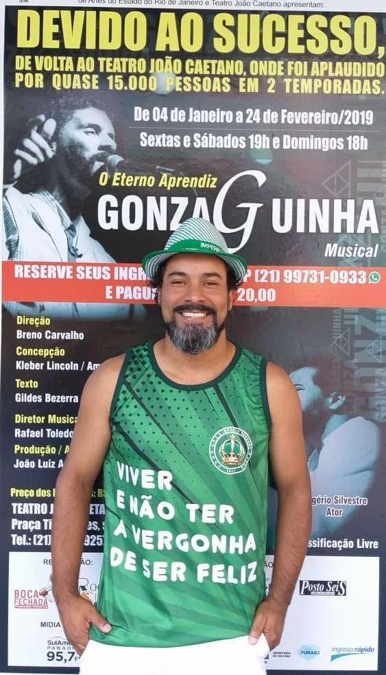 GONZAGUINHA: O ETERNO APRENDIZ em cartaz no Rio