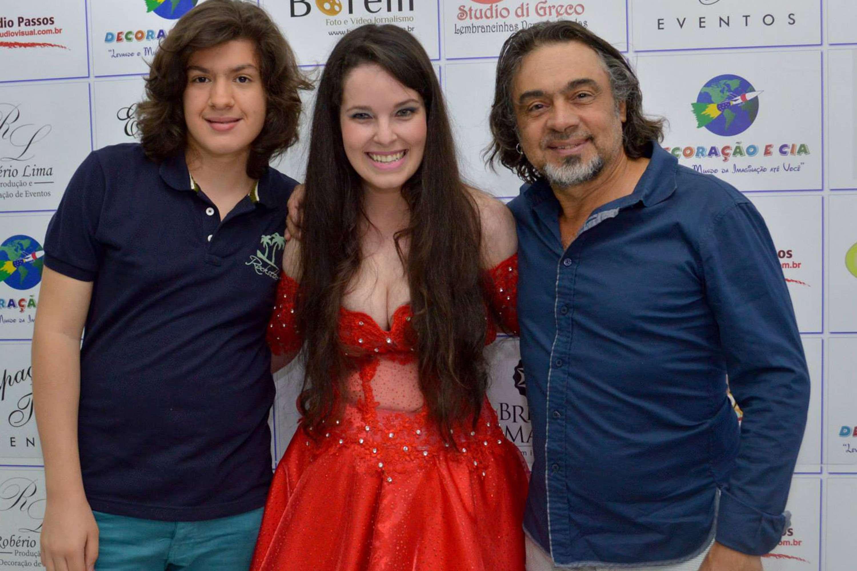 De pai para filha com Carlos Randall e Naty Meg