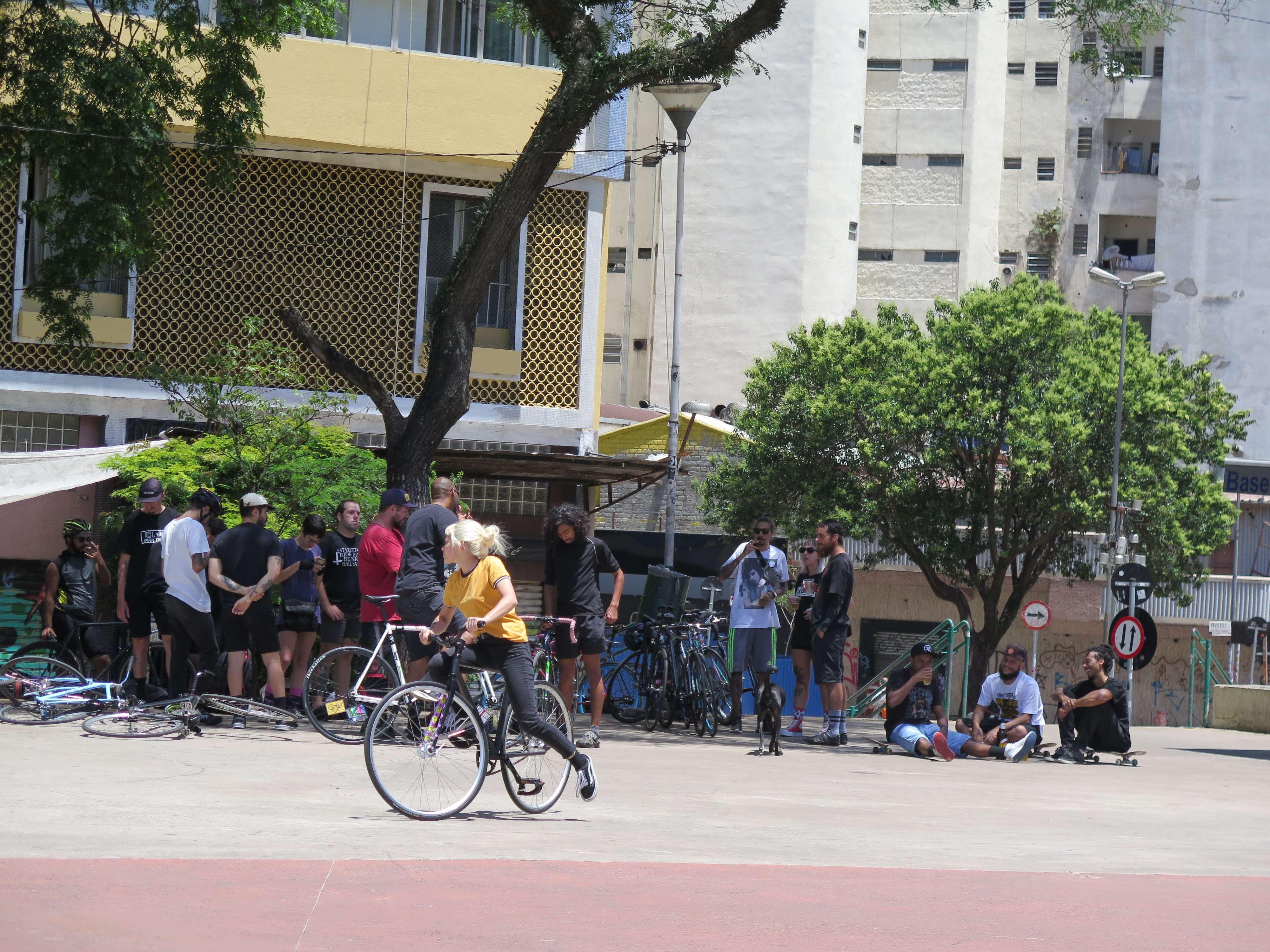 Ocupação do espaço público no Centro de São Paulo